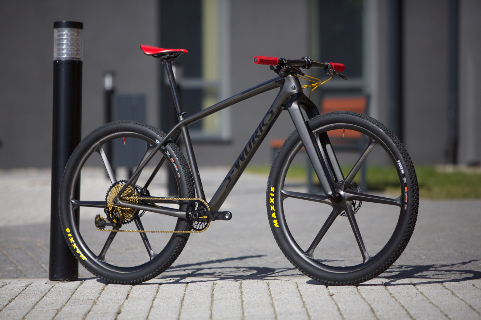 Michał Łomnicki – Specialized S-Works Epic HT #bikeporn