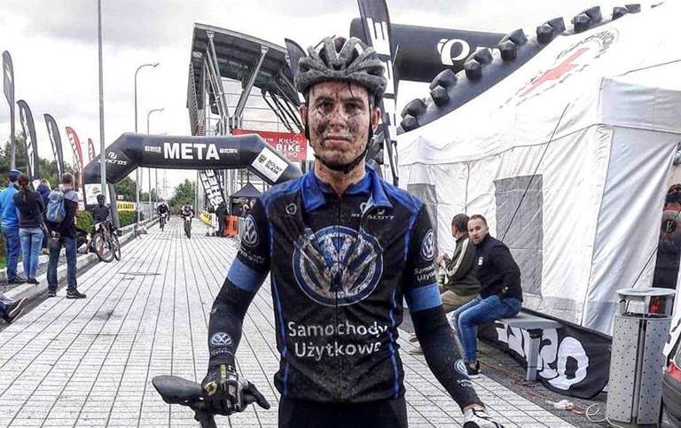 Jakub Zamroźniak (Volkswagen Samochody Użytkowe MTB Team) – Bike Maraton, Kielce