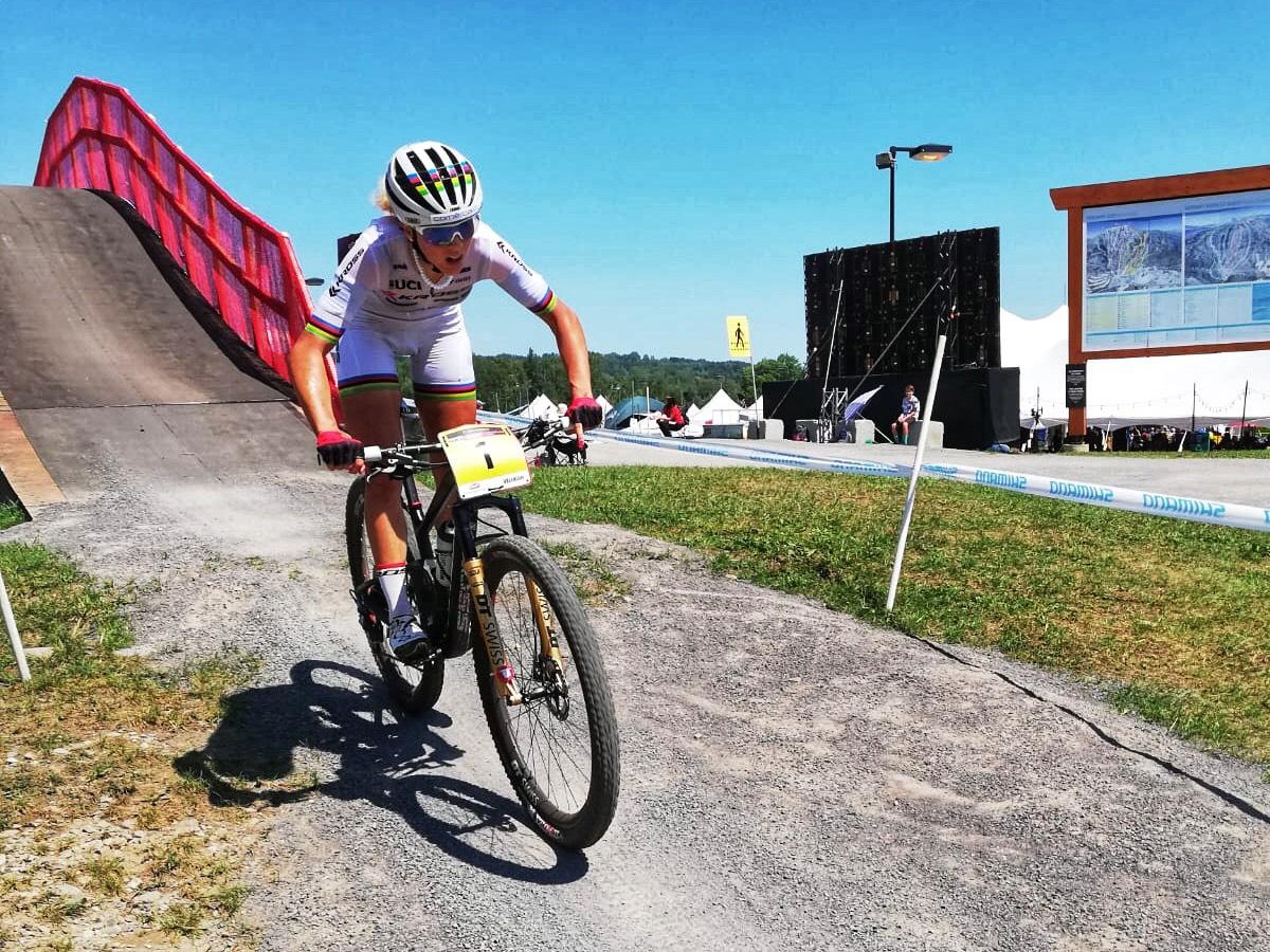 Jolanda Neff wygrywa w Kanadzie