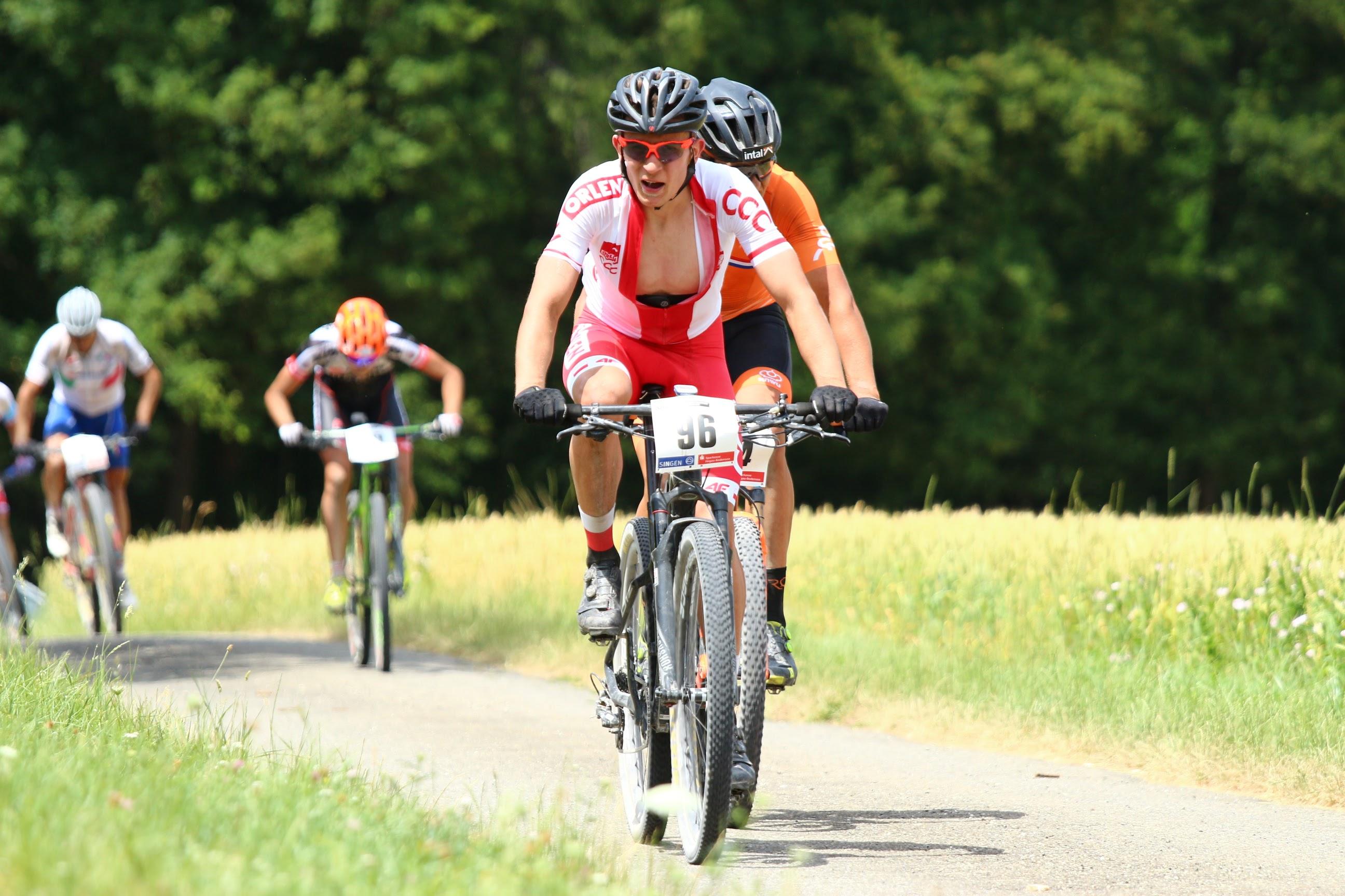Krzysztof Łukasik (Mitutotyo AZS Wratislavia) – Mistrzostwa Świata w maratonie MTB, Niemcy