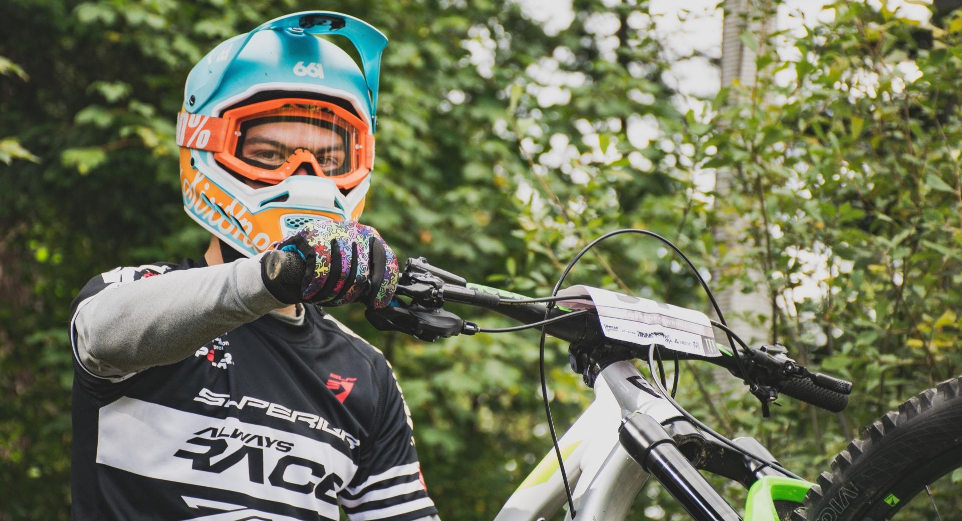 Michał Topór – Local Series of Downhill, Brenna