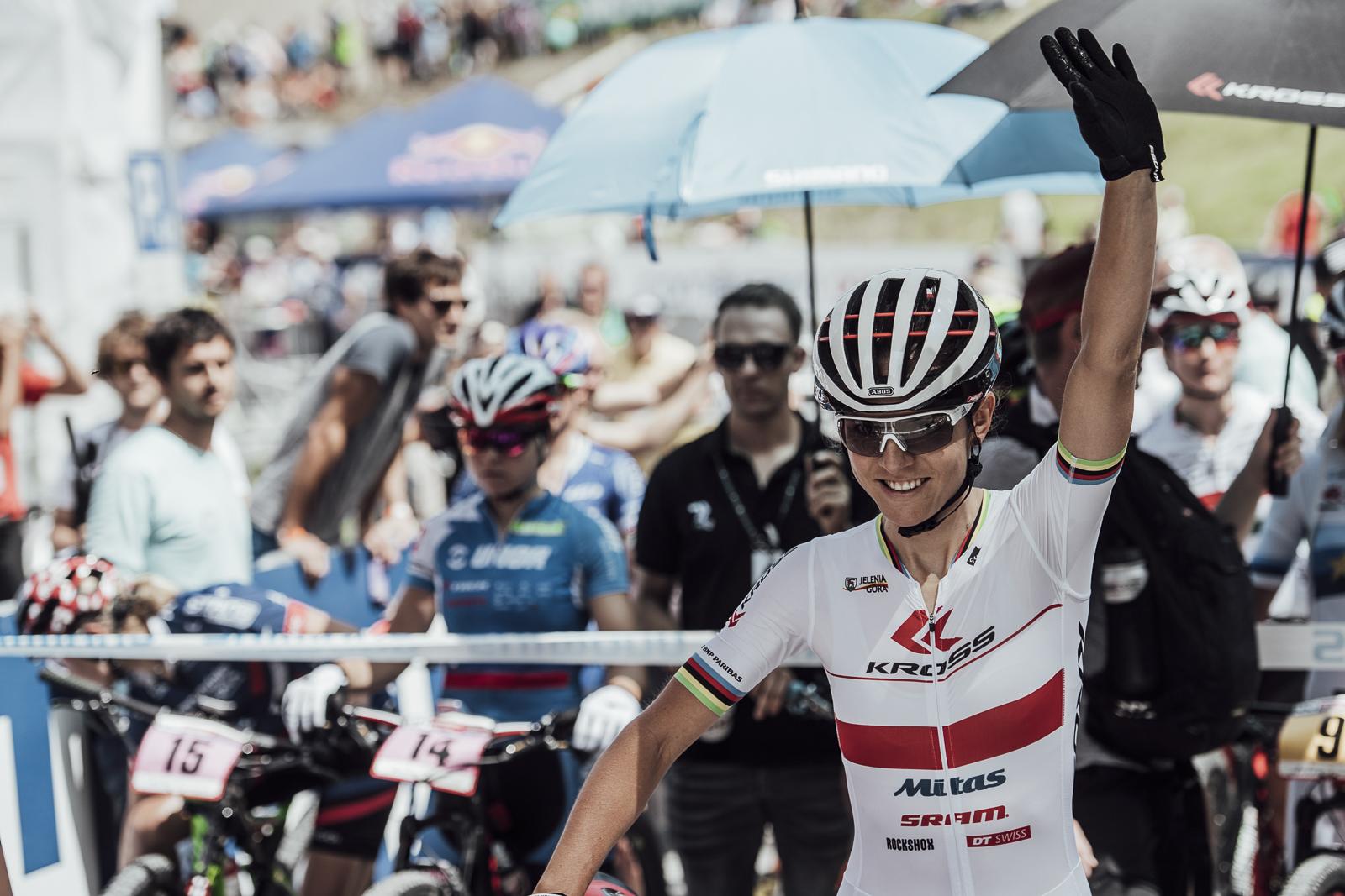 Maja Włoszczowska (Kross Racing Team): Jestem niezłą agentką ;)