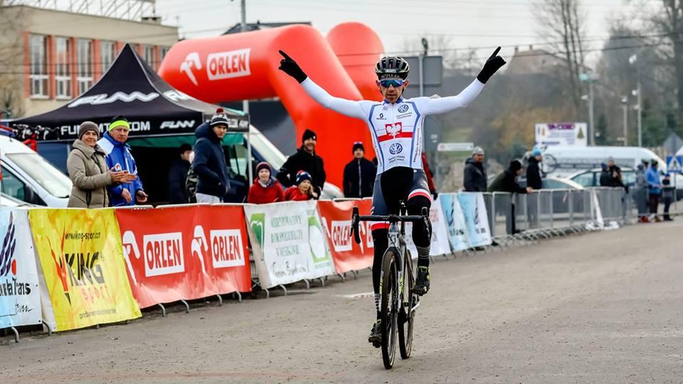 Marek Konwa zwycięża w Pucharze Polski w Koziegłowach i zajmuje 5. miejsce na UCI C1 w Czechach