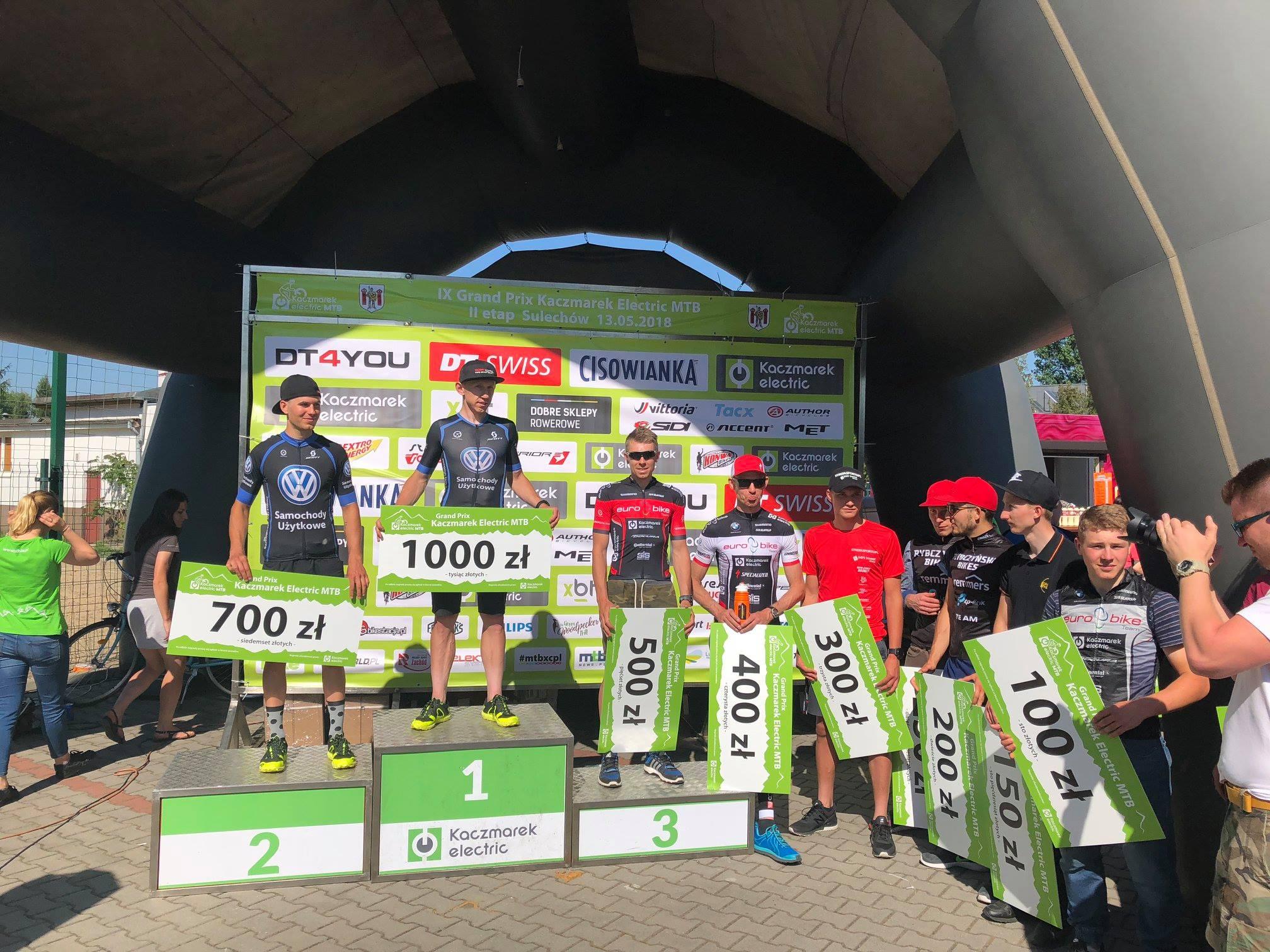 Podwójne podium – weekend sukcesów dla Zawodników Volkswagen Samochody Użytkowe MTB Team