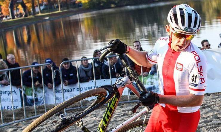 Marek Konwa na Mistrzostwach Europy w kolarstwie przełajowym