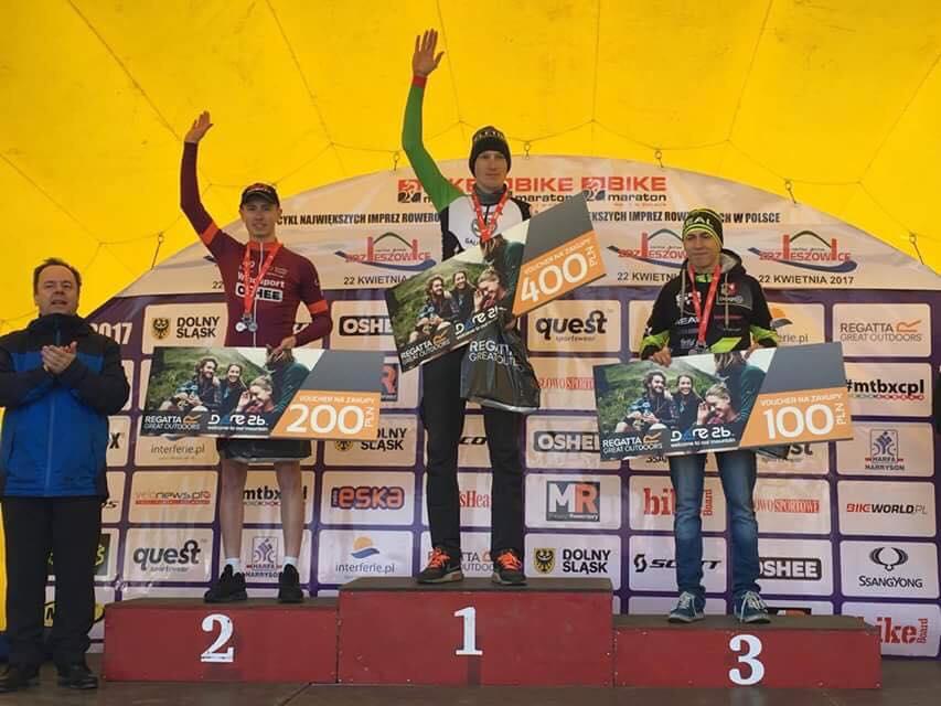 Mateusz Mucha (72D Windsport powered by Oshee) – Bike Maraton, Zdzieszowice