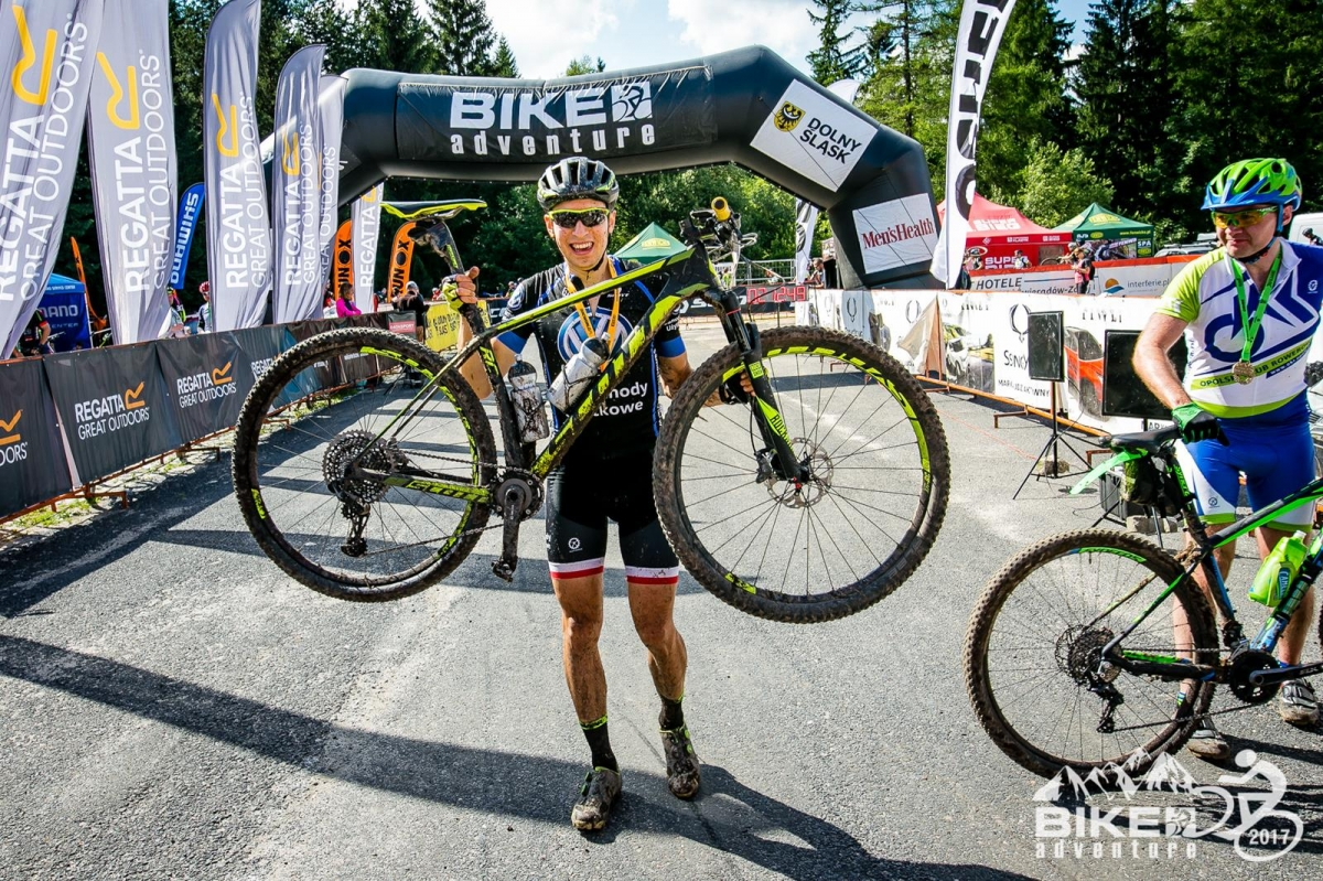 Michał Ficek (Volkswagen Samochody Użytkowe MTB Team) – Bike Adventure, Szklarska Poręba