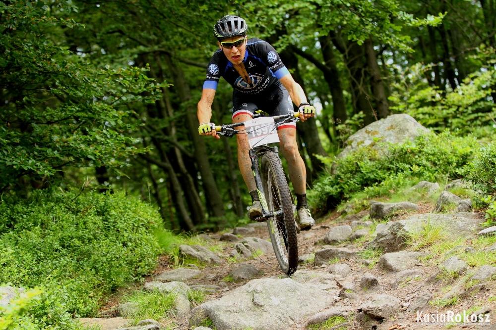 Michał Ficek (Volkswagen Samochody Użytkowe MTB Team) – Bike Maraton, Bielawa / Uphill MTB Beskidy, Wielka Czantoria