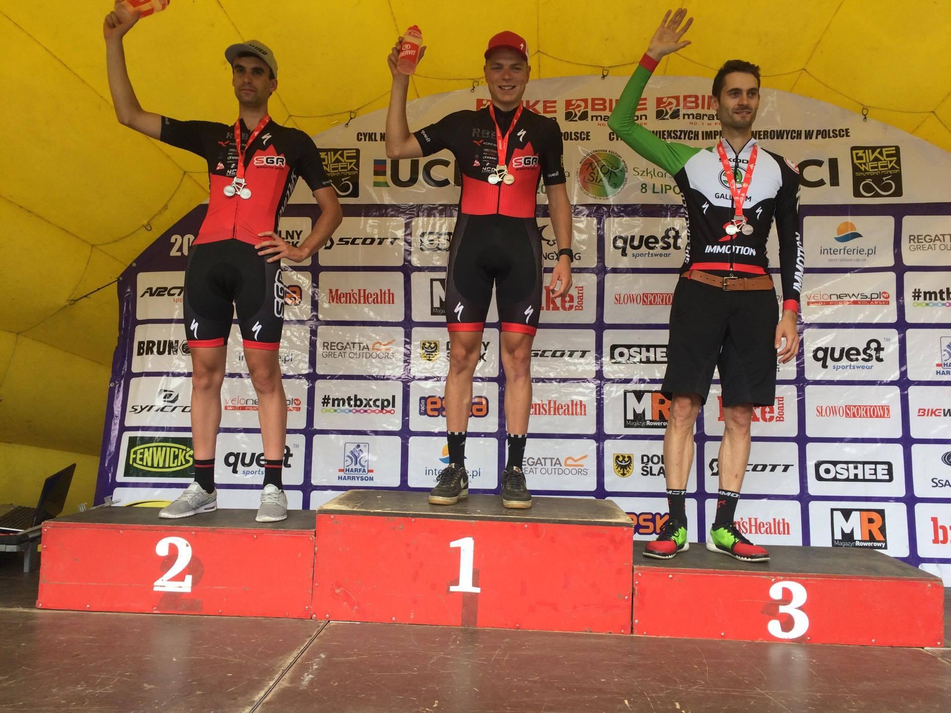 Filip Helta (SGR Specialized) – UCI Bike Maraton, Szklarska Poręba