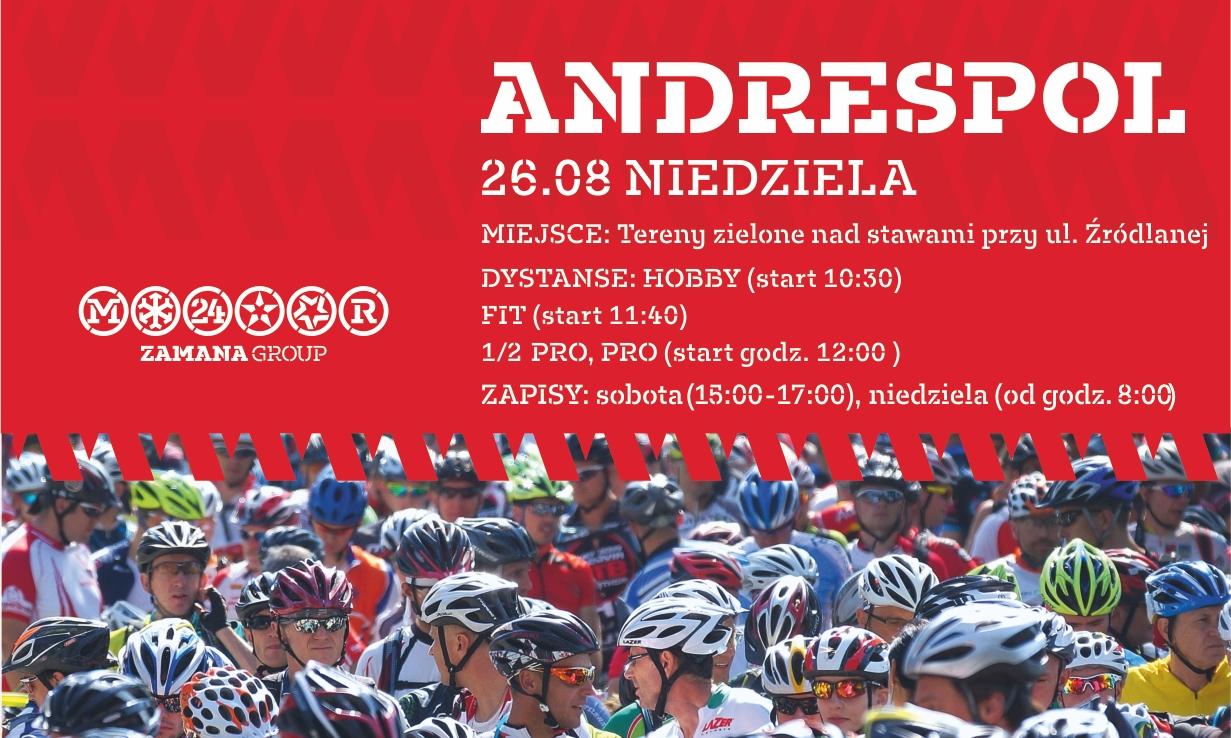 Cisowianka Mazovia MTB Marathon wjeżdża do Andrespola