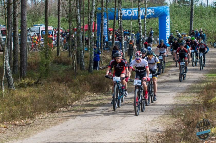 Zawodnicy EDF Trek Gdynia na podium w Luzino i Gdyni