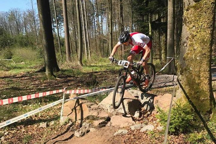 Stanisław Nowak (Superior Zator) – UCI Junior Series, Bad Sackingnen, Niemcy
