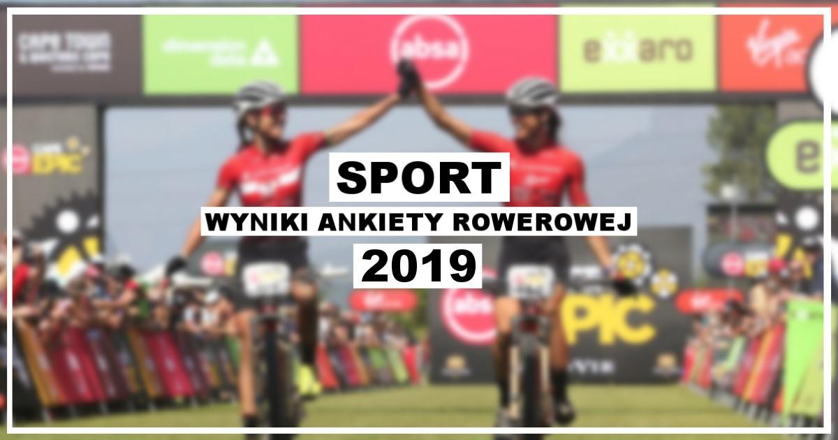 Wyniki ankiety rowerowej 2019 [sport]