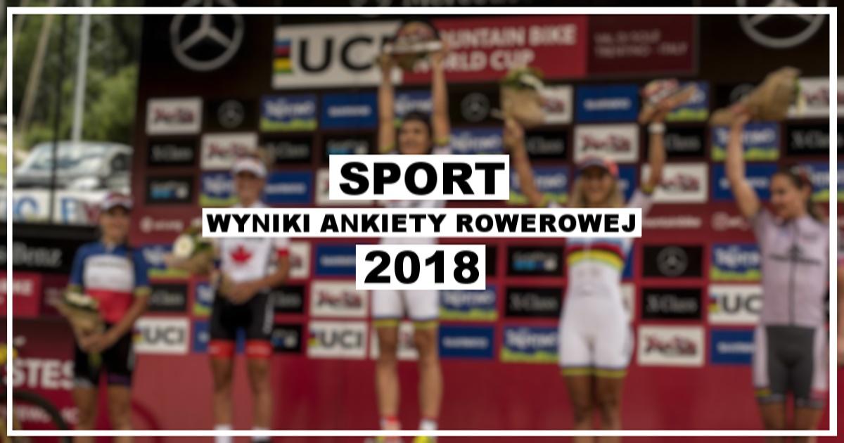 Wyniki ankiety rowerowej 2018 [sport]