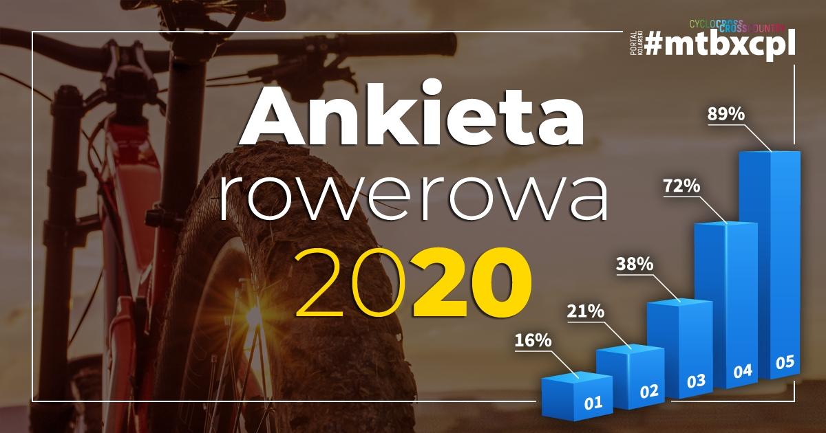 Ankieta rowerowa – podsumowanie sezonu 2020