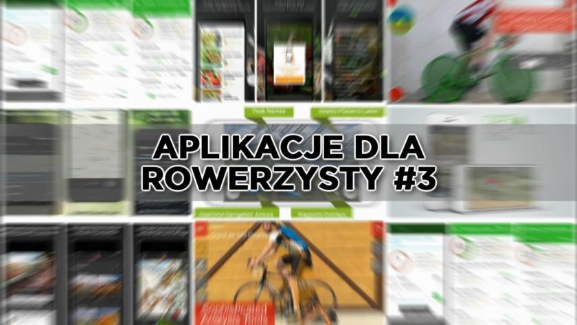 Aplikacje na smartfona przydatne dla rowerzysty #3