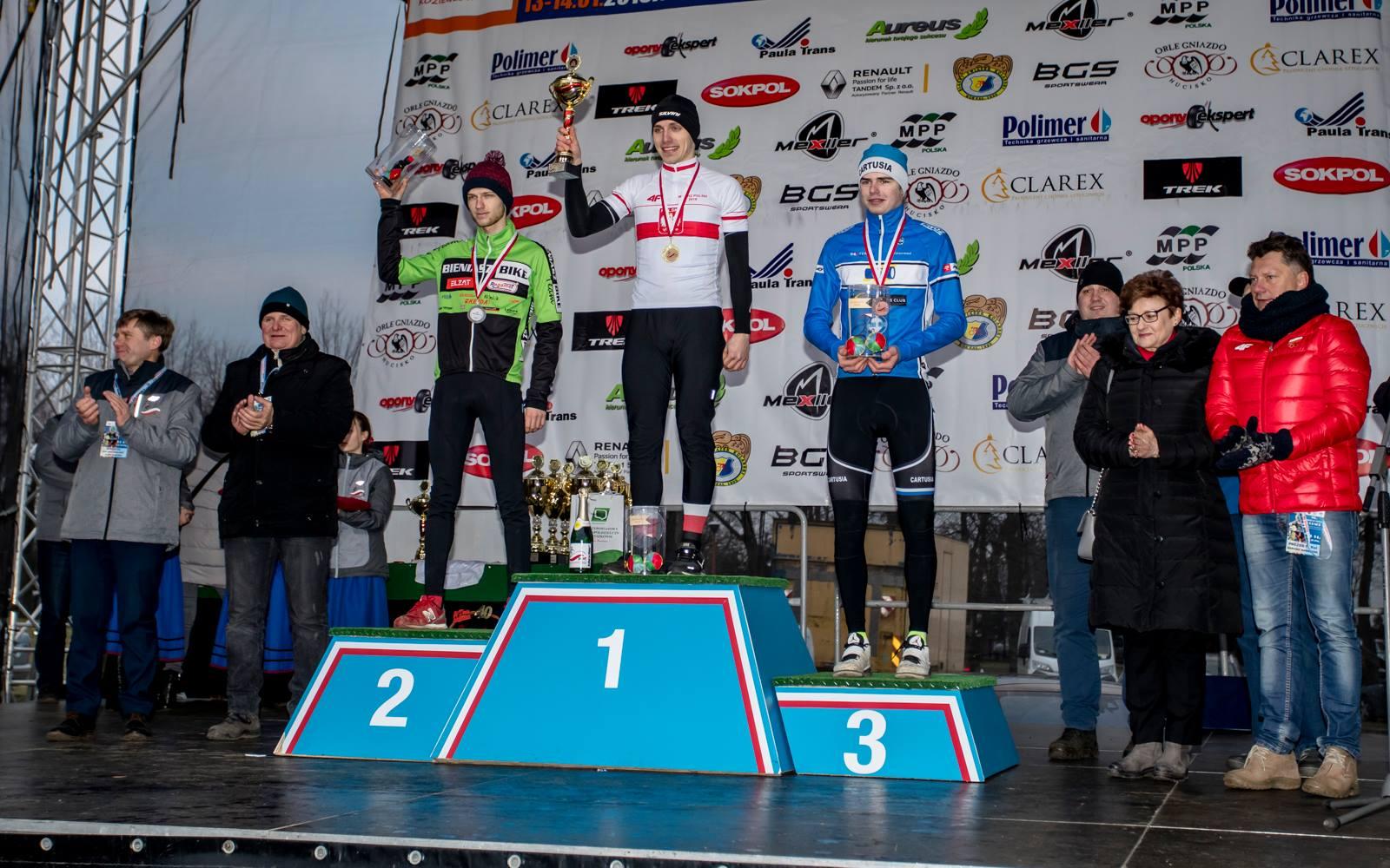 """Arkadiusz Mirek (KCP Elzat Bieniasz Bike): """"sezon przełajowy miał być tylko dobrym treningiem"""""""