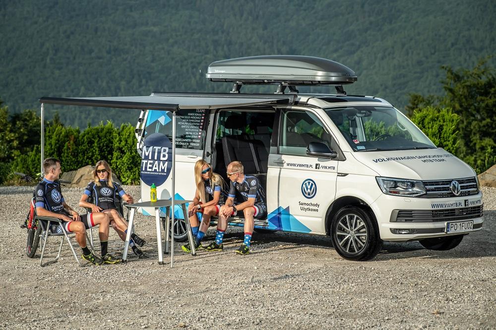 Volkswagen Samochody Użytkowe MTB Team – Crafterem i Californią po zwycięstwo