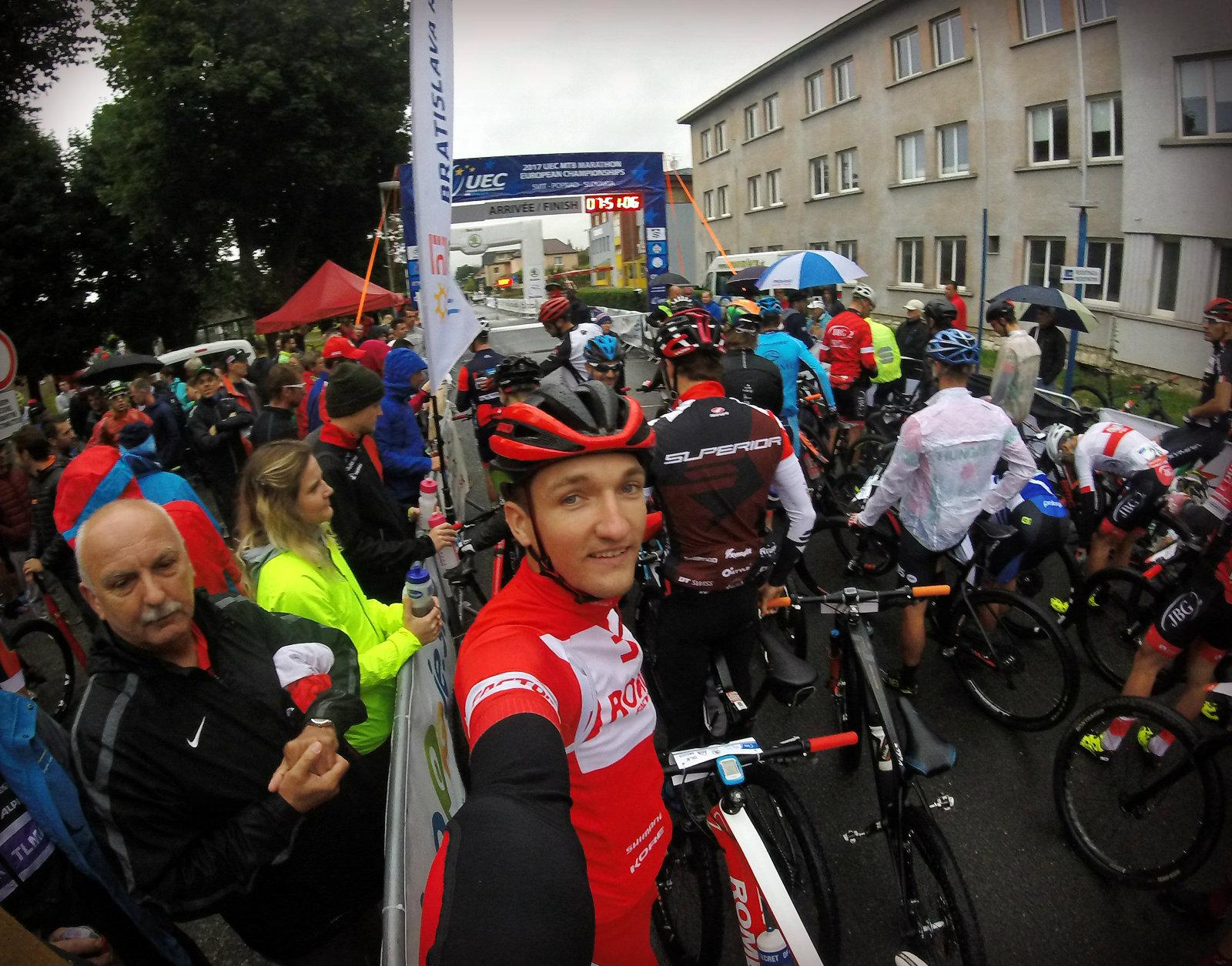 Bartosz Janowski (Romet Factory Team) – Mistrzostwa Europy w maratonie MTB, Svit