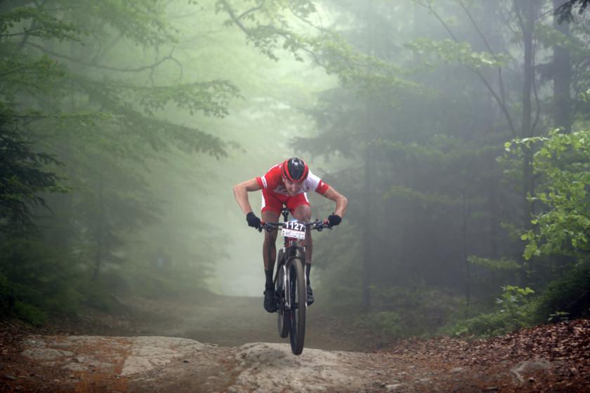 Bartosz Janowski (Romet Factory Team) – Bike Maraton, Wisła