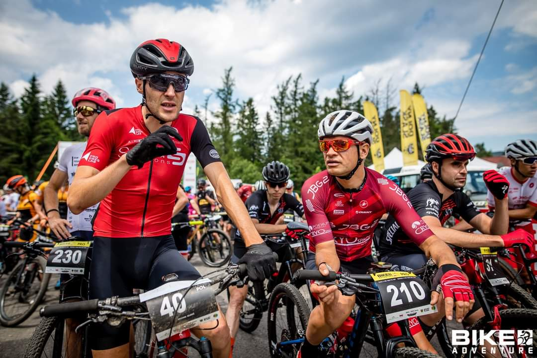 """Michał Glanz (Spica Solutions): """"miałem myśli o wycofaniu się z wyścigu""""   Bike Adventure, Szklarska Poręba"""