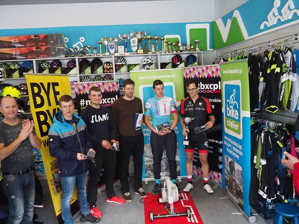 Kostuch i Górska-Sierońska najlepsi w Tour de Bike Atelier w Kartuzach