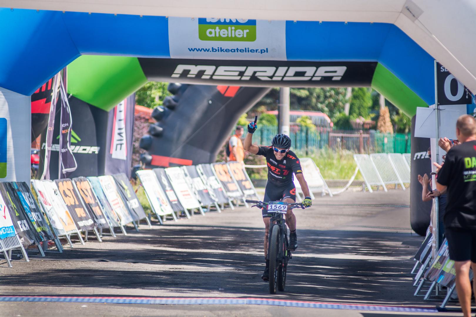 Michał Neumann zwycięża Bike Atelier Maraton w Olkuszu