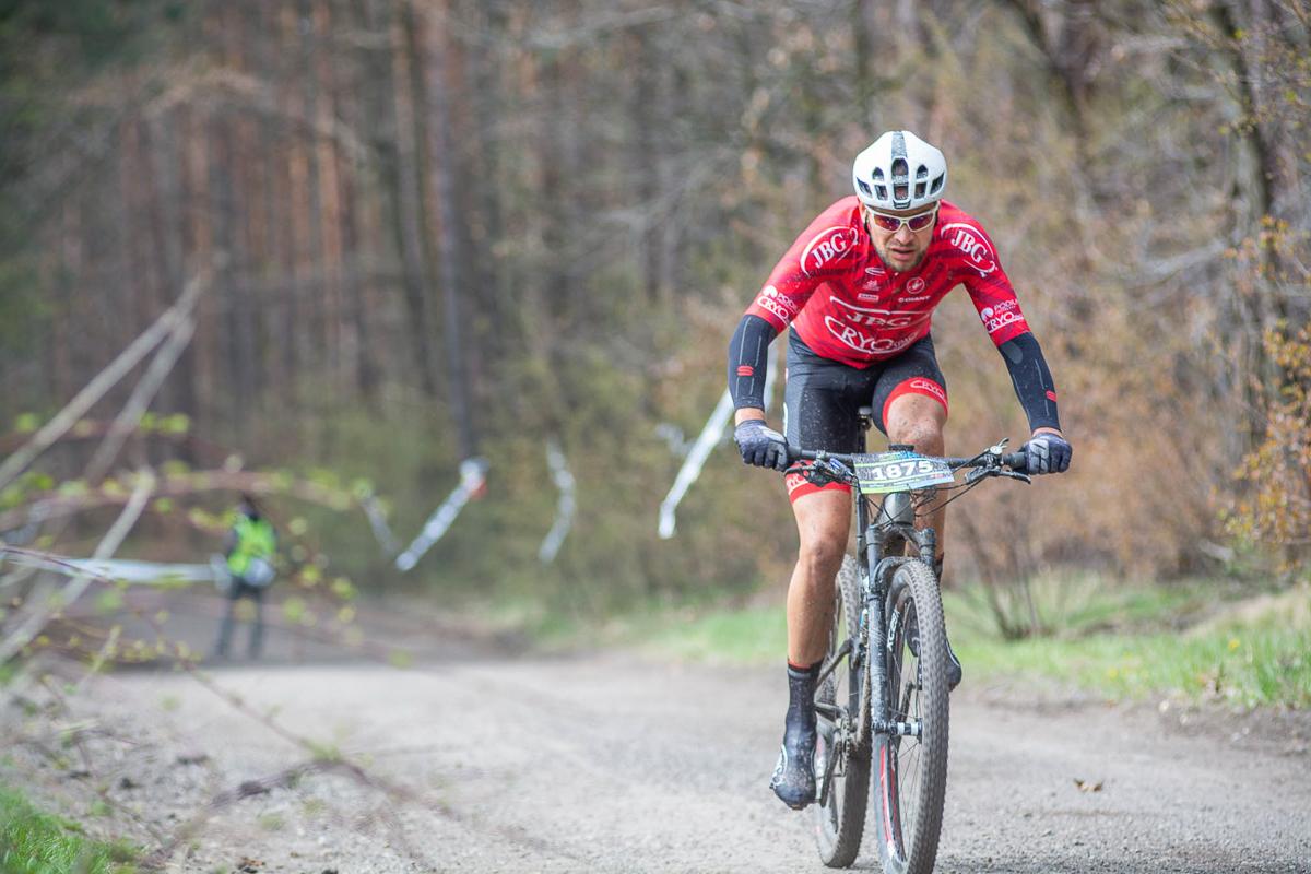 Wojciech Halejak (JBG-2 CryoSpace) – Bike Maraton, Miękinia / Bike Atelier MTB Maraton, Rybnik