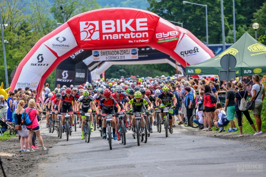 Bike Maraton 2020. Od Szklarskiej Poręby do Sobótki. Miękinia zaprasza na inaugurację sezonu 2021