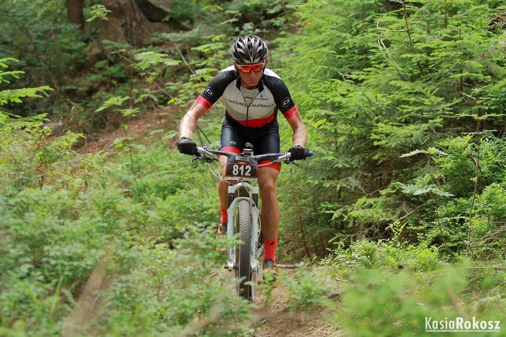 Gracjan Krzemiński (Mitsubishi Materials MTB Team) – Bike Maraton, Świeradów Zdrój