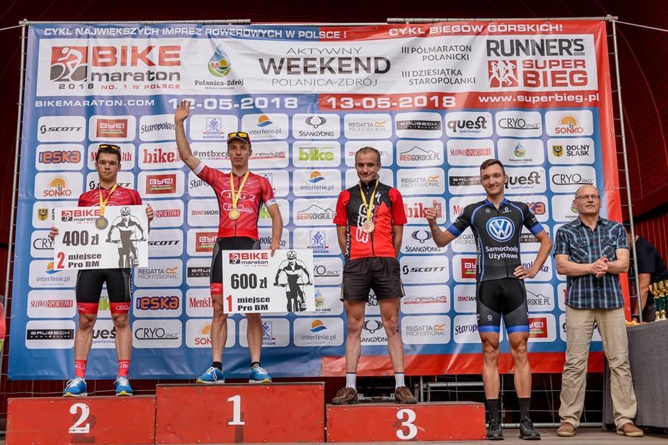 bike maraton 2018 polanica zdrój relacja podium giga mężczyzn