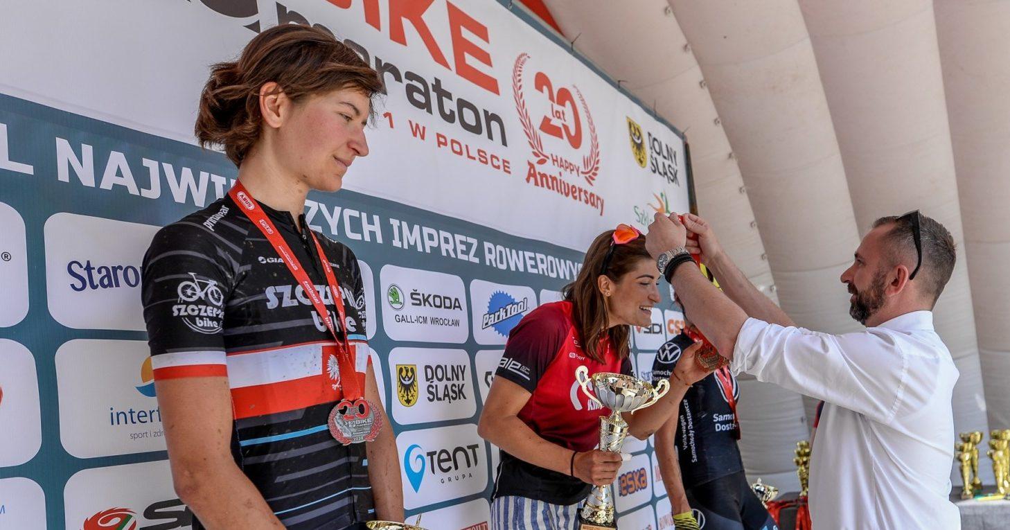Barbara Borowiecka (Szczepan Bike) – Bike Maraton, Szklarska Poręba
