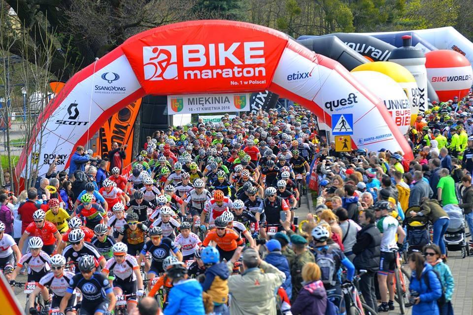 Bike Maraton: biuro zawodów we Wrocławiu (1 kwietnia) i objazd trasy w Miękini (2 kwietnia)