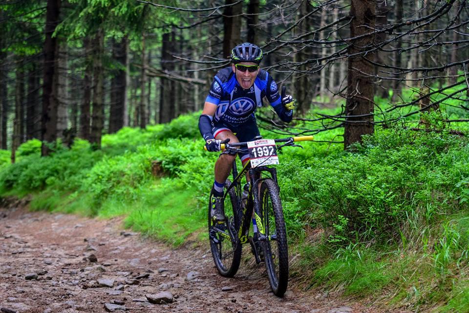 Michał Ficek (Volkswagen Samochody Użytkowe MTB Team) – Bike Maraton, Ludwikowice // Rowerem na Szrenicę