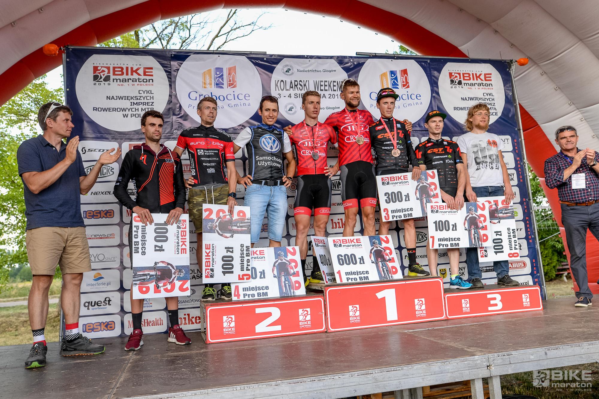 Kolarski Weekend za nami – Wojciech Halejak wygrywa Bike Maraton w Obiszowie