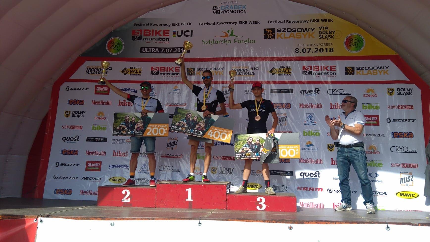 Bartosz Borowicz (Cozmobike Team) – Ultra Bike Maraton, Szklarska Poręba