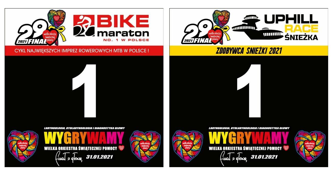 """Z """"Jedynkami"""" na WOŚP. Bike Maraton i Uphill Race Śnieżka"""