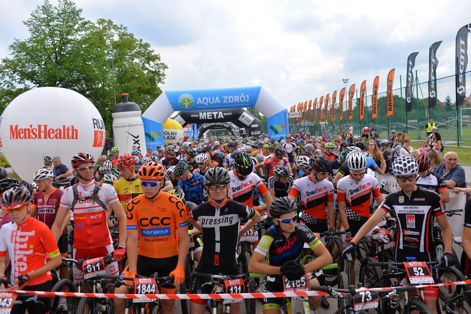Mistrzostwa Polski XCM. 9 września Bike Maraton w Wałbrzychu