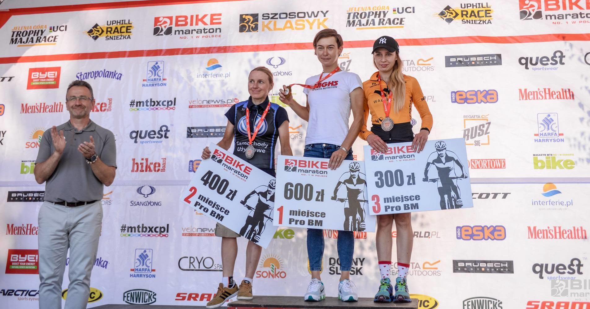 Anna Sadowska (72D Windsport powered by OSHEE) – Bike Maraton, Wałbrzych