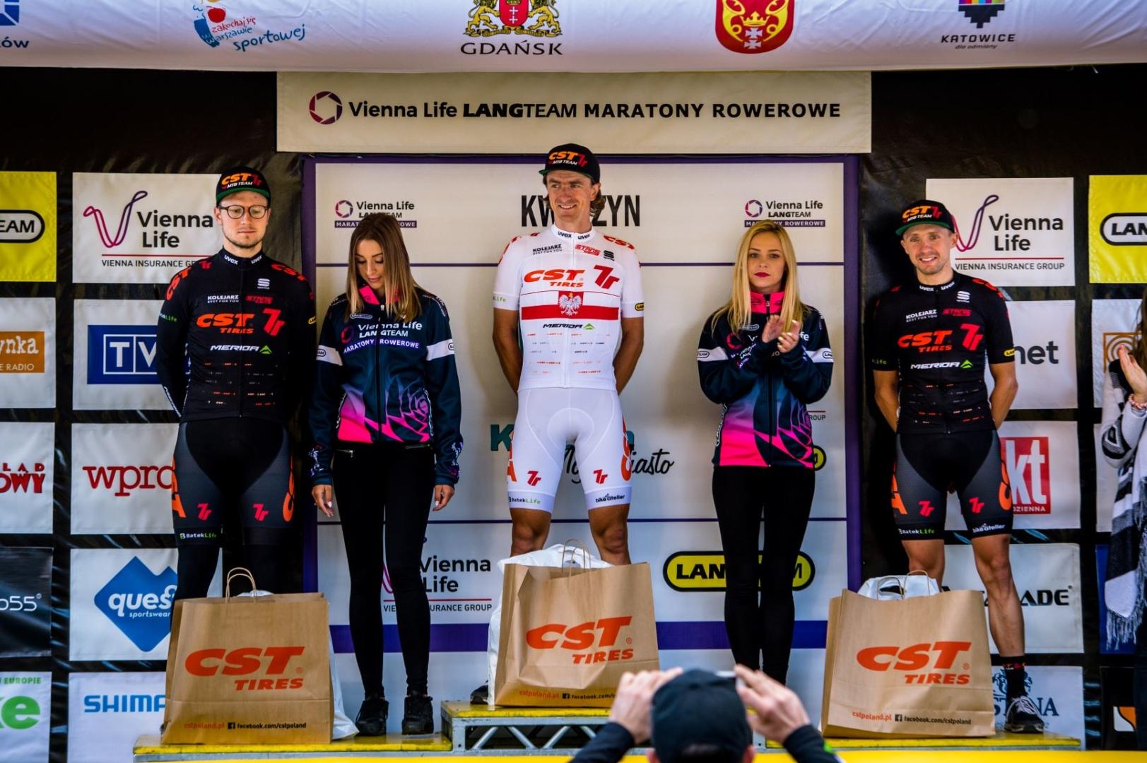 CST 7R MTB Team dominuje w generalce Vienna Life Lang Team Maratony Rowerowe