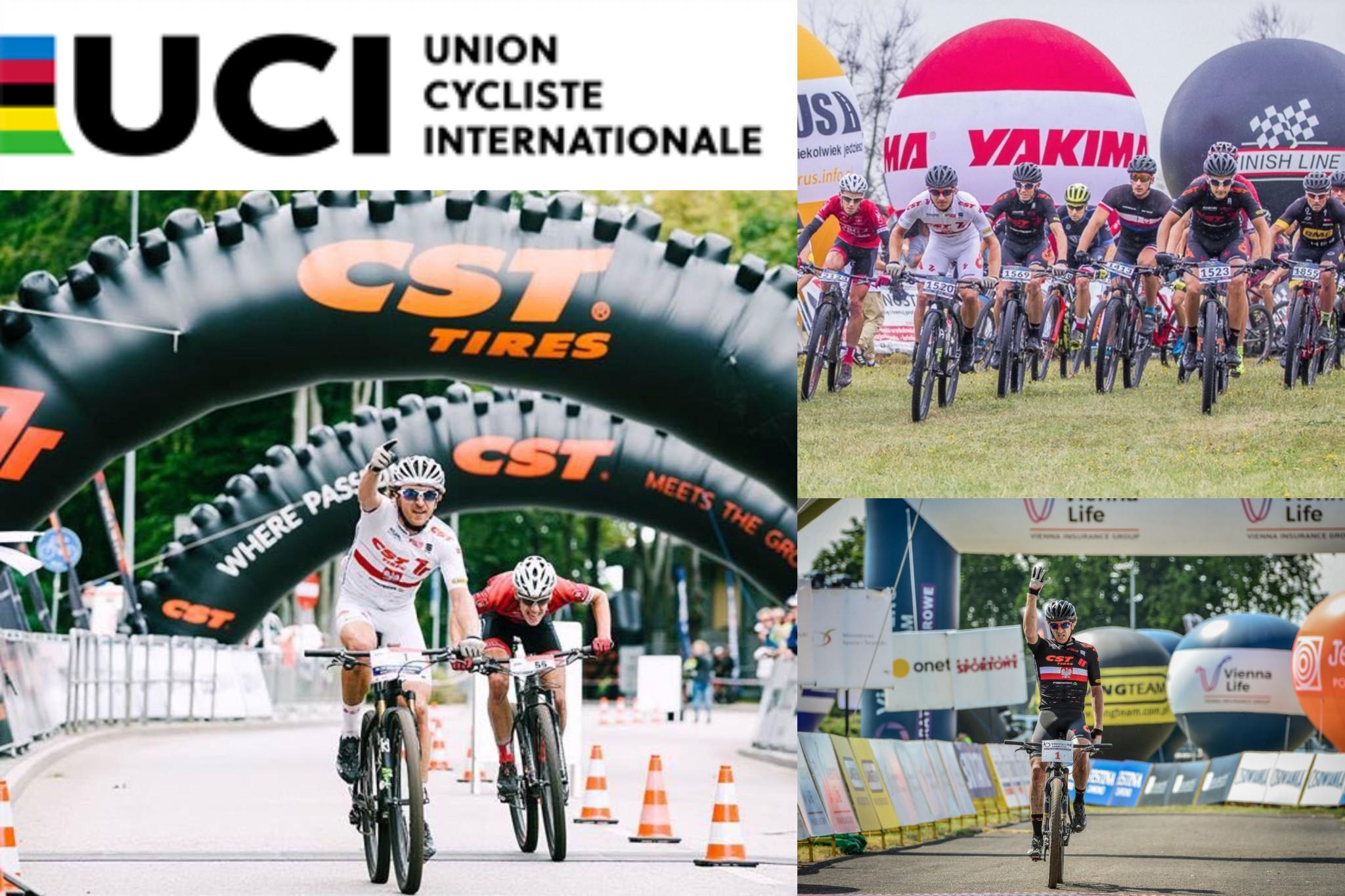 CST 7R MTB Team z licencją UCI