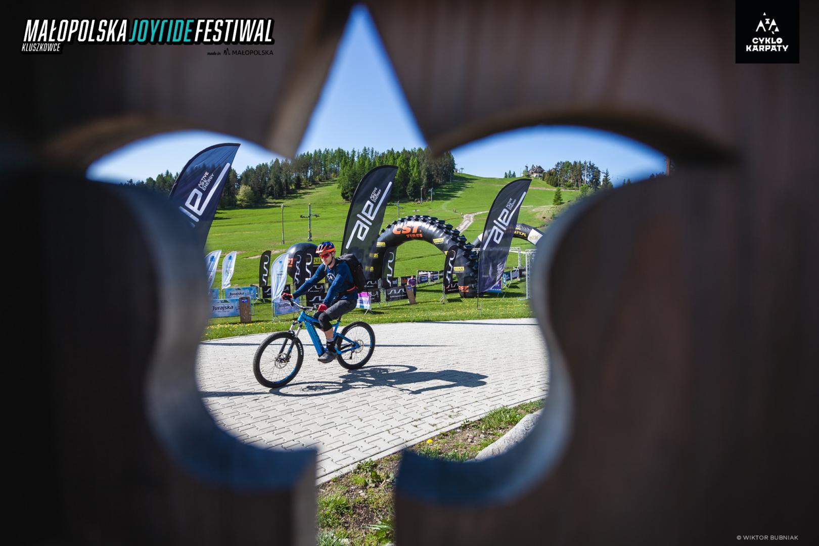 Legendarny etap Cyklokarpat podczas Małopolska Joy Ride Festiwal w Kluszkowcach już za nami
