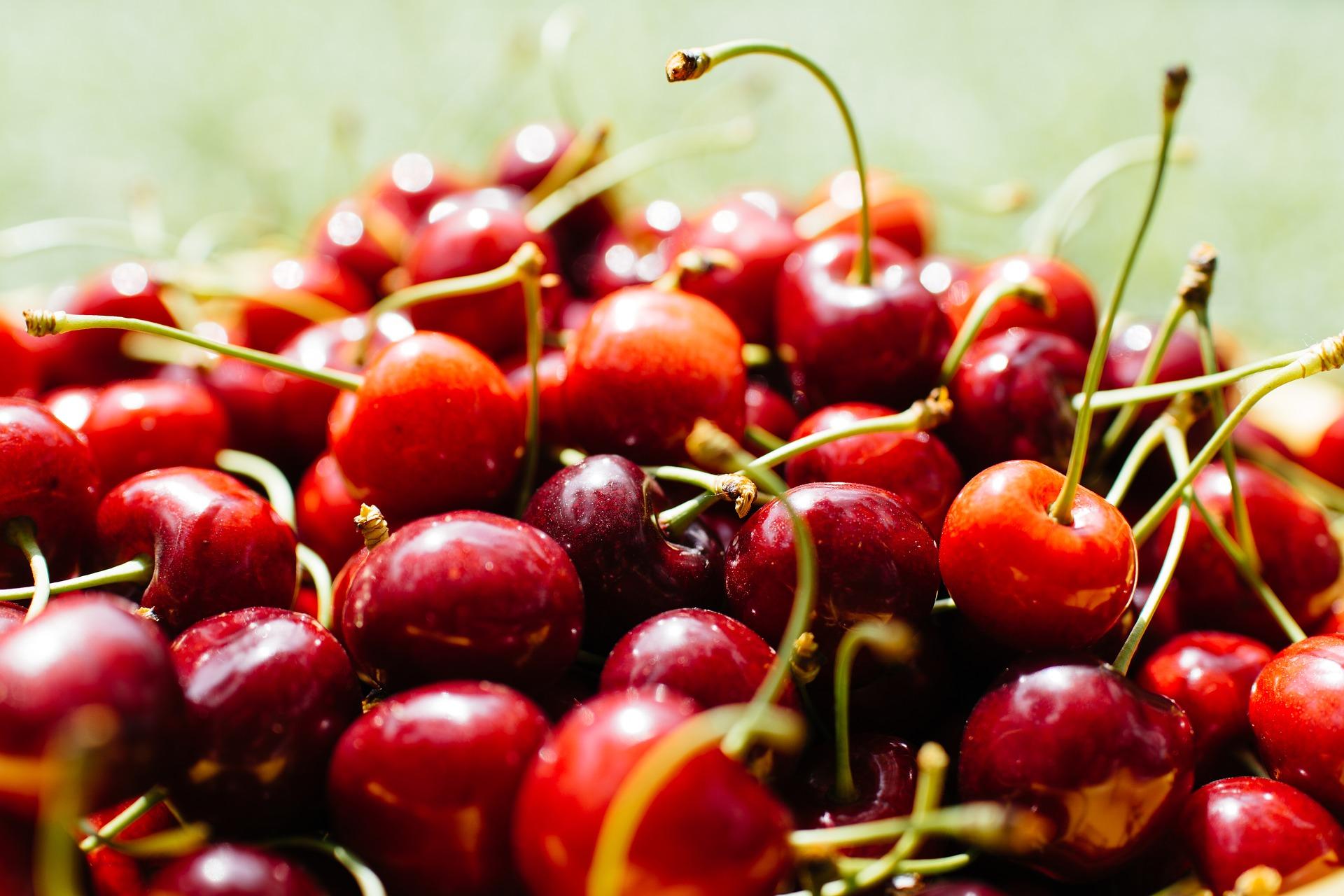 Jedz czereśnie dla zdrowia i urody