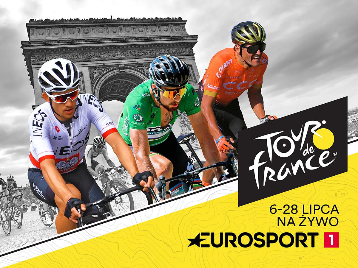 Tour de France w wyjątkowej oprawie od soboty tylko wEurosporcie 1 i Eurosport Playerze