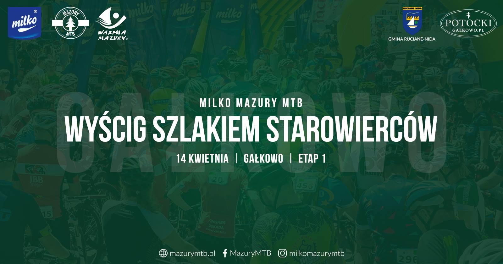 Nowy sezon Milko Mazury MTB 2019 wystartuje w Gałkowie