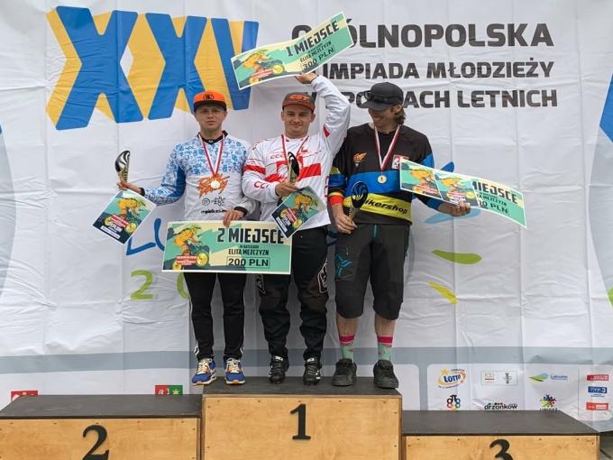 Gustaw Dądela Mistrzem Polski BMX RC