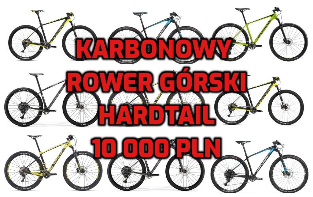 """Karbonowy rower górski HT 29"""" do 10 tys PLN [zestawienie]"""