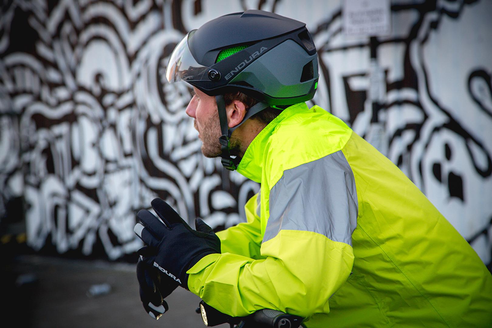 Wysoki poziom ochrony dla wysokich prędkości: Kask Endura SPEED PEDELEC