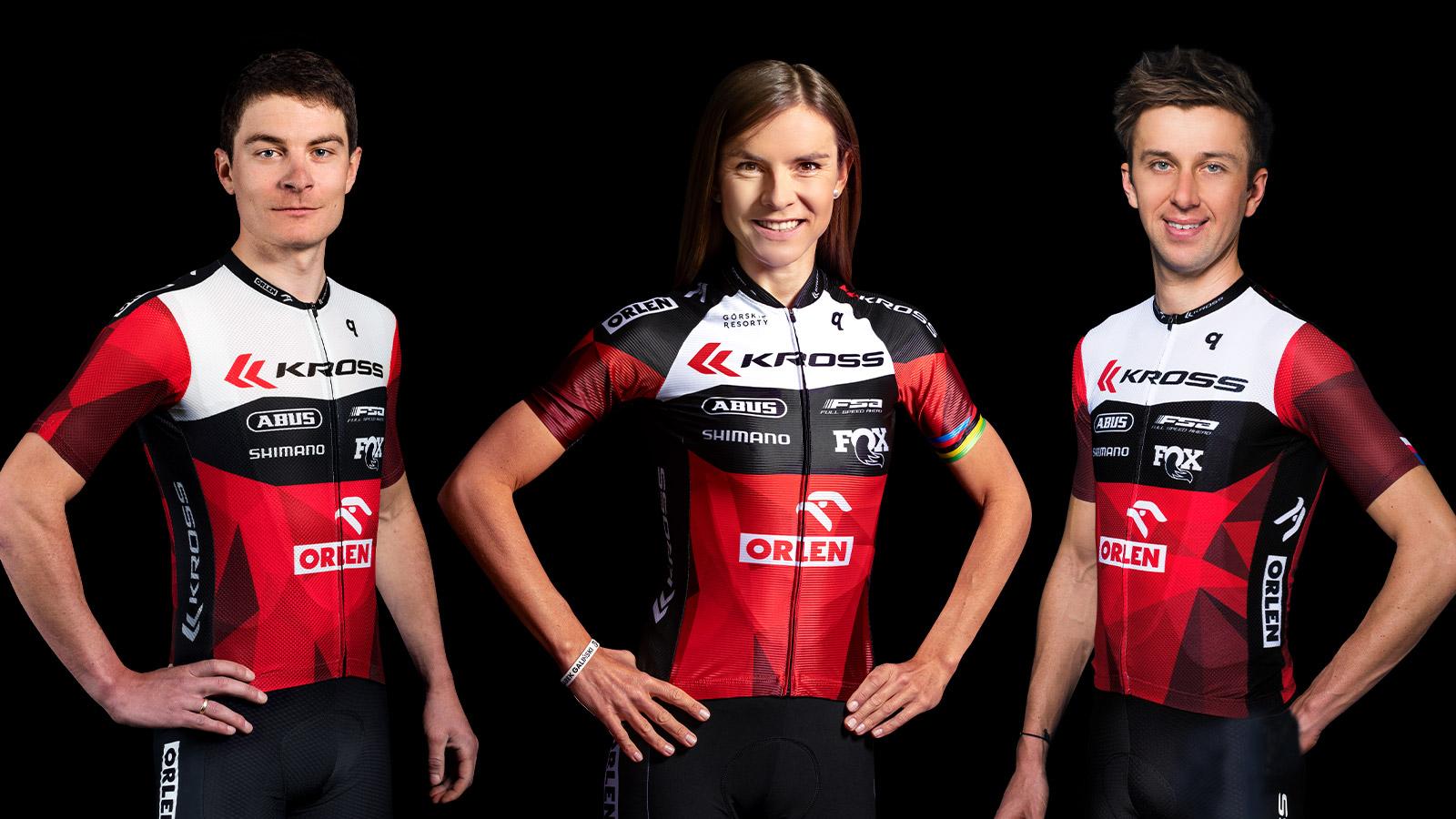 Cały zespół kolarski wspierany przez KROSS powołany na Igrzyska Olimpijskie