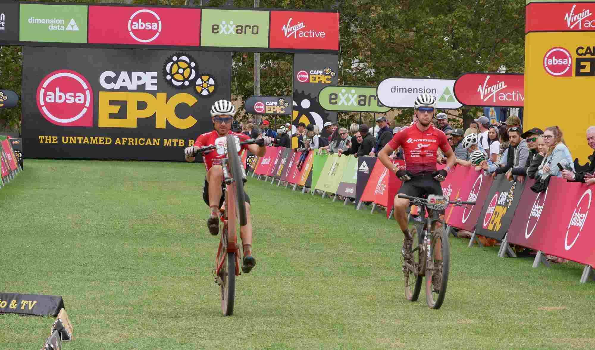 Słodko-gorzki dzień na Cape Epic dla zawodników Kross-Spur Racing